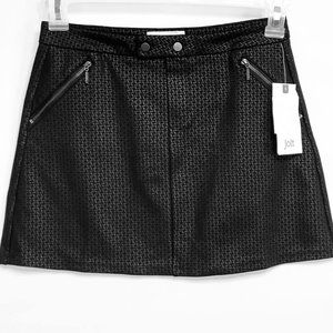 Jolt Mini Skirt Juniors Womens Size 1 Black